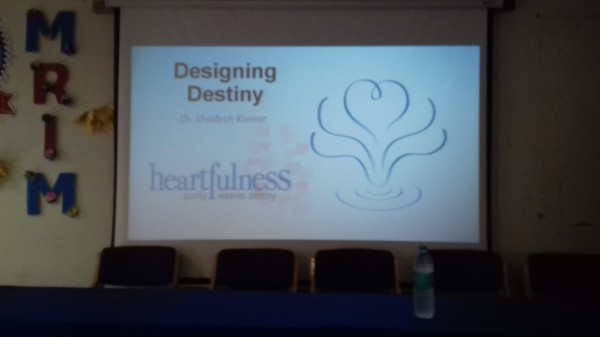 """Designing the Destiny"""