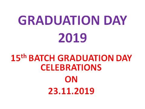 GRADUATION DAY 2019